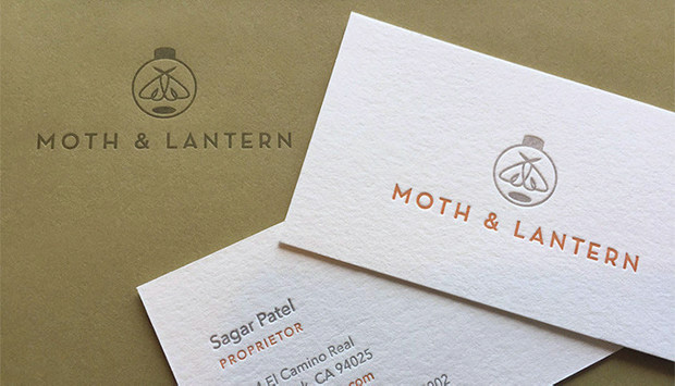 Moth & Lantern Stationery System
