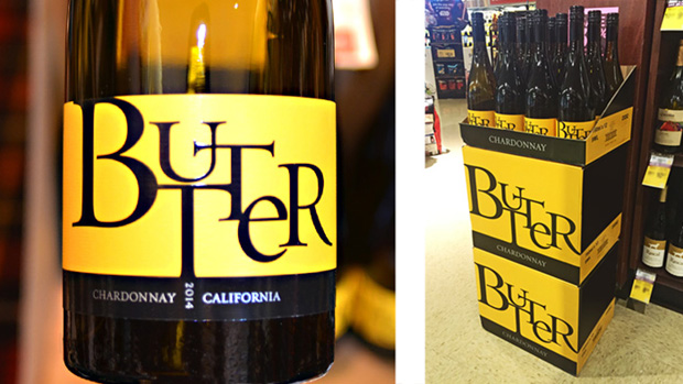 Butter Wine Bottle and Shipper